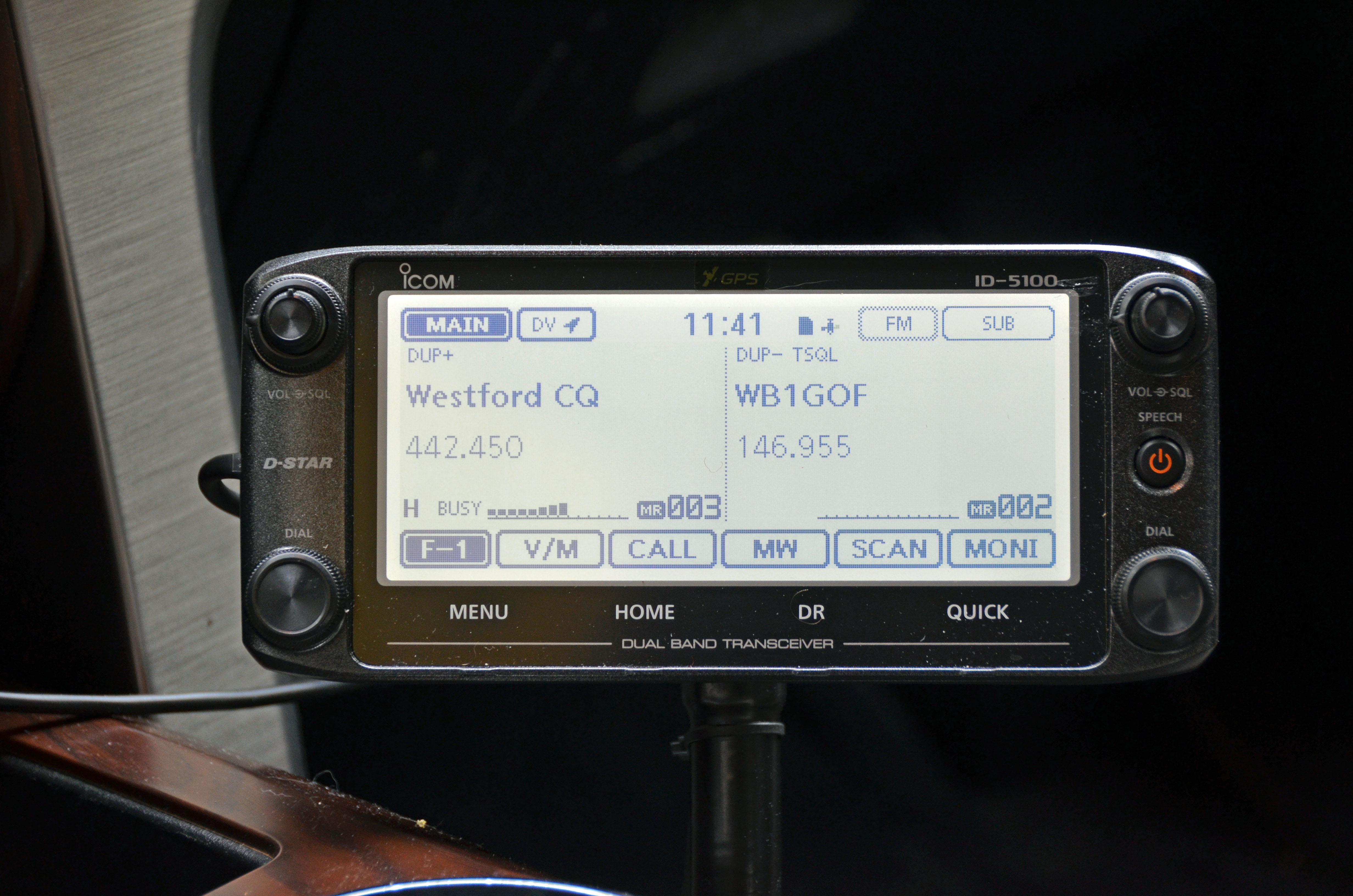 Mobile 2m/70cm FM Radio in a Vehicle