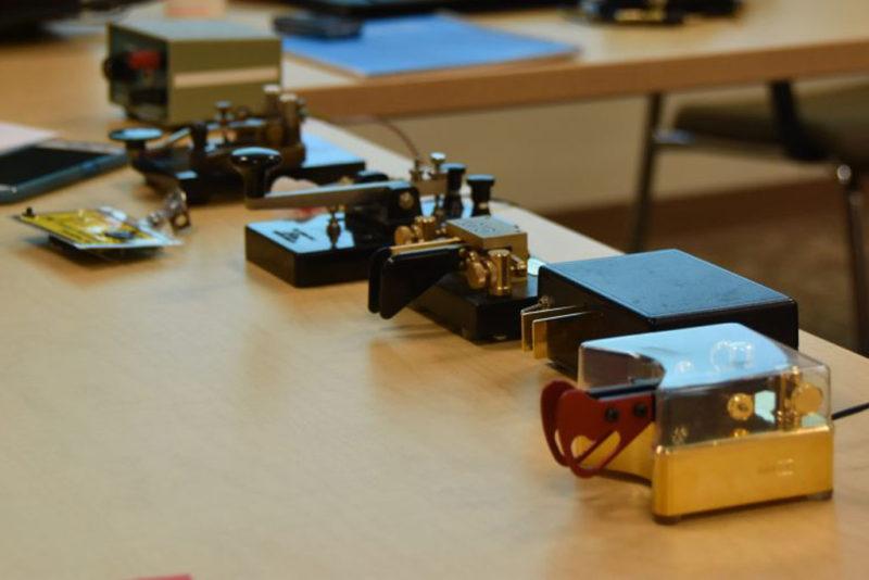 Learning Morse Code with the Nashua Area Radio Society