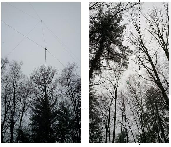 20m Vertical Dipole Antenna - Nashua Area Radio Society