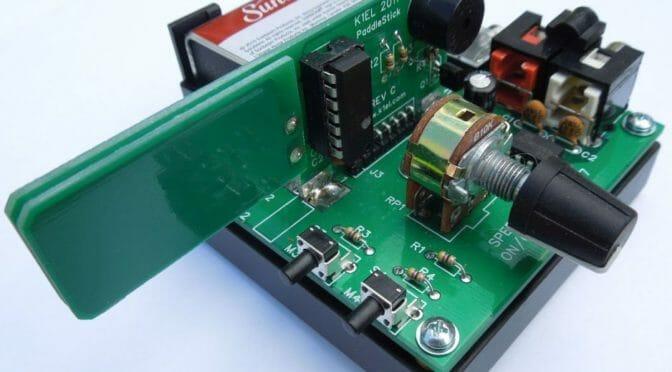 PaddleStick CW Keyer with Base Kit Build - Nashua Area Radio Society
