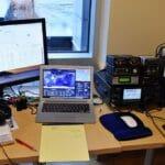 Icom IC-7300 Display Using N1MM Logger Plus - Nashua Area