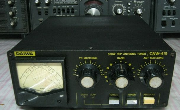 Daiwa CNW-419 Tuner Repair - Nashua Area Radio Society