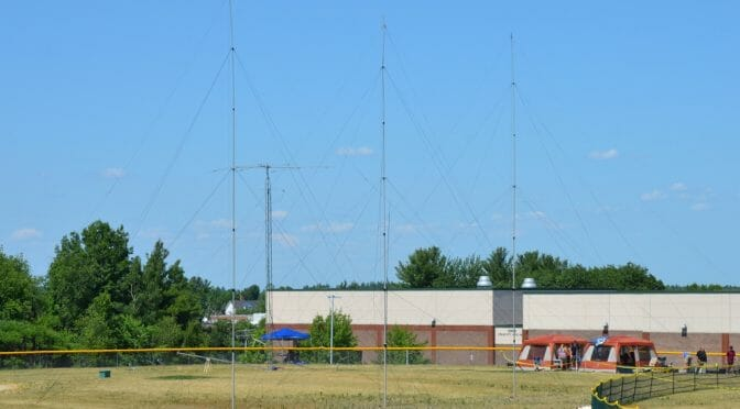 A High Performance 40m Antenna Optimization for Field Day