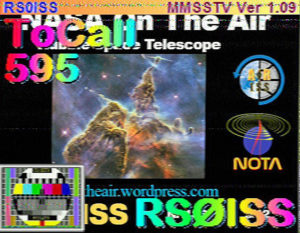NASA 60th Anniversary SSTV Pictures from the ISS