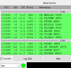 A WSJT-X / FT-8 and WSPR Overview by a New User