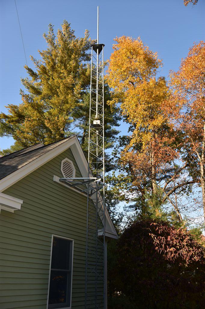 New Satellite and 6m Tower - Nashua Area Radio Society