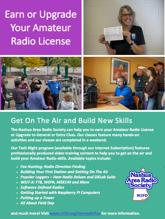 Earn or Upgrade Your Amateur Radio License